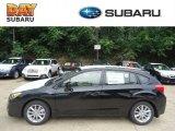 2012 Obsidian Black Pearl Subaru Impreza 2.0i Premium 5 Door #68469027