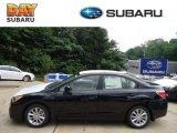 2012 Obsidian Black Pearl Subaru Impreza 2.0i Premium 4 Door #68469025