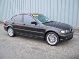 2002 Jet Black BMW 3 Series 325xi Sedan #6833864