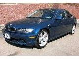 2005 Mystic Blue Metallic BMW 3 Series 325i Coupe #6833268