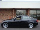 2006 Jet Black BMW 3 Series 330i Sedan #6833879