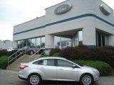 2012 Ingot Silver Metallic Ford Focus SEL Sedan #68468961