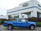 2012 Blue Flame Metallic Ford F150 FX4 SuperCab 4x4 #68468957