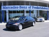 2006 Black Sapphire Metallic BMW 3 Series 325i Sedan #6841313