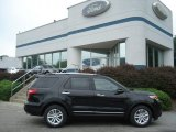 2013 Tuxedo Black Metallic Ford Explorer XLT 4WD #68468954