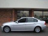 2007 Titanium Silver Metallic BMW 3 Series 328xi Sedan #6833880