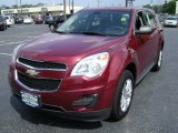 2010 Cardinal Red Metallic Chevrolet Equinox LS #68468901