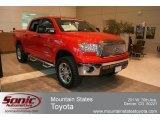 2012 Radiant Red Toyota Tundra CrewMax 4x4 #68468855