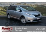 2012 Silver Sky Metallic Toyota Sienna LE AWD #68468833