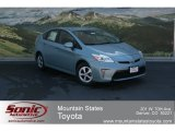 2012 Sea Glass Pearl Toyota Prius 3rd Gen Two Hybrid #68468827