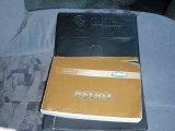 2002 Chevrolet Astro LS Conversion Van Books/Manuals