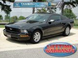 2005 Black Ford Mustang V6 Deluxe Coupe #68469465