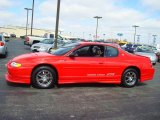 2000 Torch Red Chevrolet Monte Carlo LS #6834666