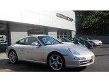 2007 Arctic Silver Metallic Porsche 911 Carrera Coupe #68469412