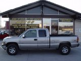 2000 Light Pewter Metallic Chevrolet Silverado 1500 LT Extended Cab 4x4 #6838993
