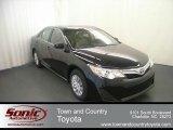 2012 Attitude Black Metallic Toyota Camry LE #68469380