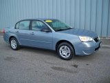2007 Golden Pewter Metallic Chevrolet Malibu LS Sedan #6833871