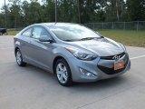 2013 Titanium Gray Metallic Hyundai Elantra Coupe GS #68523555