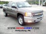 2013 Graystone Metallic Chevrolet Silverado 1500 LT Crew Cab 4x4 #68523271
