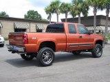 2005 Chevrolet Silverado 1500 Sunburst Orange Metallic