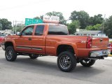 Sunburst Orange Metallic Chevrolet Silverado 1500 in 2005
