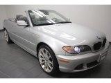 2006 Titanium Silver Metallic BMW 3 Series 330i Convertible #68523264