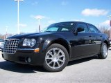 2008 Brilliant Black Crystal Pearl Chrysler 300 Limited #6830883