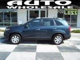 2011 Pacific Blue Kia Sorento LX V6 #68523218
