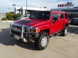2009 Victory Red Hummer H3  #68523197