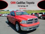 2012 Flame Red Dodge Ram 1500 Big Horn Crew Cab #68523177