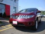 2010 Merlot Red Metallic Nissan Murano S AWD #68523161