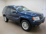 2002 Patriot Blue Pearlcoat Jeep Grand Cherokee Limited 4x4 #68522820