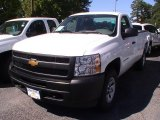 2013 Summit White Chevrolet Silverado 1500 Work Truck Regular Cab 4x4 #68522798