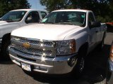 2013 Summit White Chevrolet Silverado 1500 LS Regular Cab #68522797