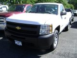 2013 Summit White Chevrolet Silverado 1500 Work Truck Regular Cab #68522793