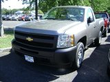 2013 Graystone Metallic Chevrolet Silverado 1500 Work Truck Regular Cab #68522791