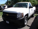 2013 Summit White Chevrolet Silverado 1500 Work Truck Regular Cab #68522790