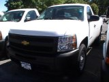 2013 Summit White Chevrolet Silverado 1500 Work Truck Regular Cab 4x4 #68522787