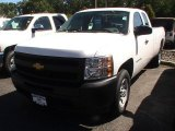 2012 Summit White Chevrolet Silverado 1500 Work Truck Extended Cab #68522782