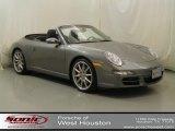 2008 Meteor Grey Metallic Porsche 911 Carrera S Cabriolet #68523130
