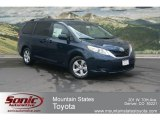2012 South Pacific Pearl Toyota Sienna LE #68522761