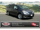 2012 Predawn Gray Mica Toyota Sienna Limited AWD #68522759