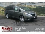 2012 Cypress Green Pearl Toyota Sienna LE AWD #68522758
