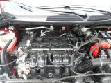 2013 Ford Fiesta SE Sedan 1.6 Liter DOHC 16-Valve Ti-VCT Duratec 4 Cylinder Engine