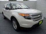 2013 White Platinum Tri-Coat Ford Explorer XLT #68523072