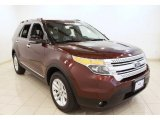 2012 Cinnamon Metallic Ford Explorer XLT 4WD #68523336