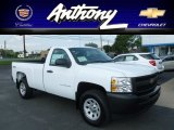 2013 Summit White Chevrolet Silverado 1500 Work Truck Regular Cab 4x4 #68579804