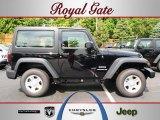 2012 Black Jeep Wrangler Sport 4x4 #68579210