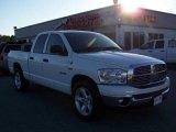 2008 Bright White Dodge Ram 1500 Big Horn Edition Quad Cab #6837377