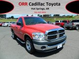 2007 Flame Red Dodge Ram 1500 ST Regular Cab #68579463